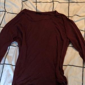 Urban Outfitters Out From Under Maroon Shirt